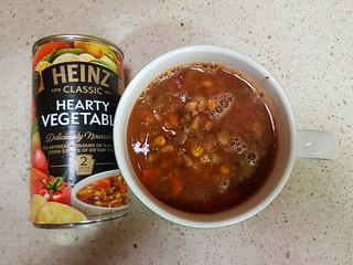 Heinz can of soup... for my family