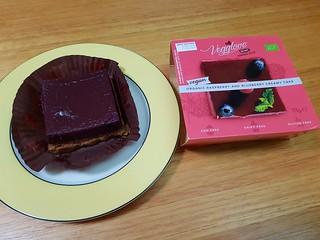Vegglove Berry Cake