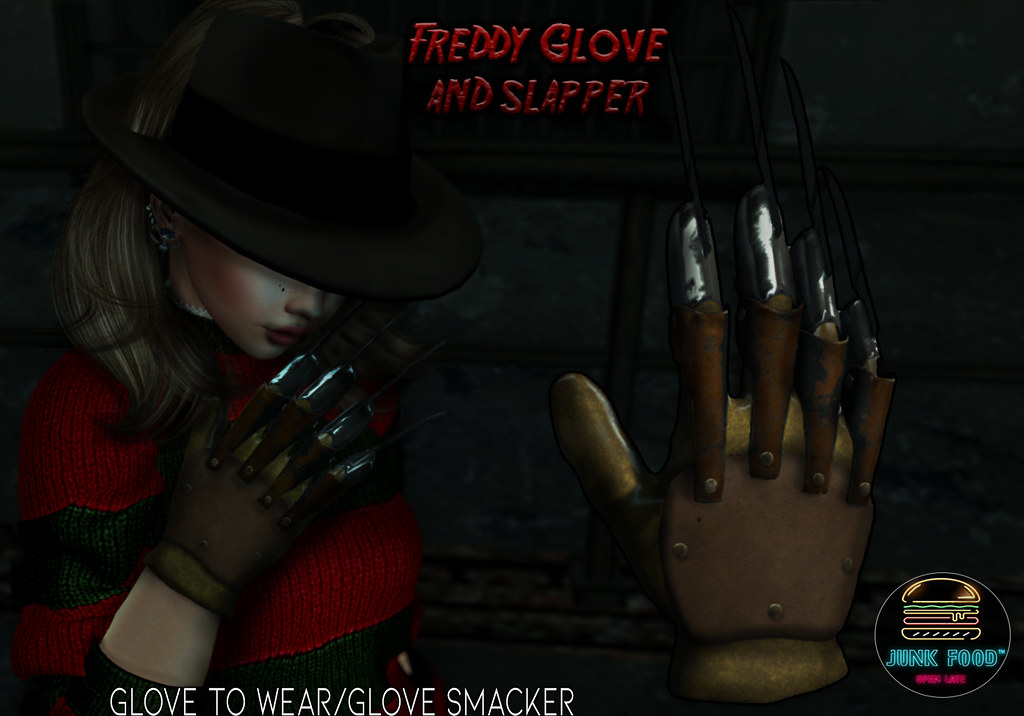 Junk Food – Freddy Glove & Smacker Ad