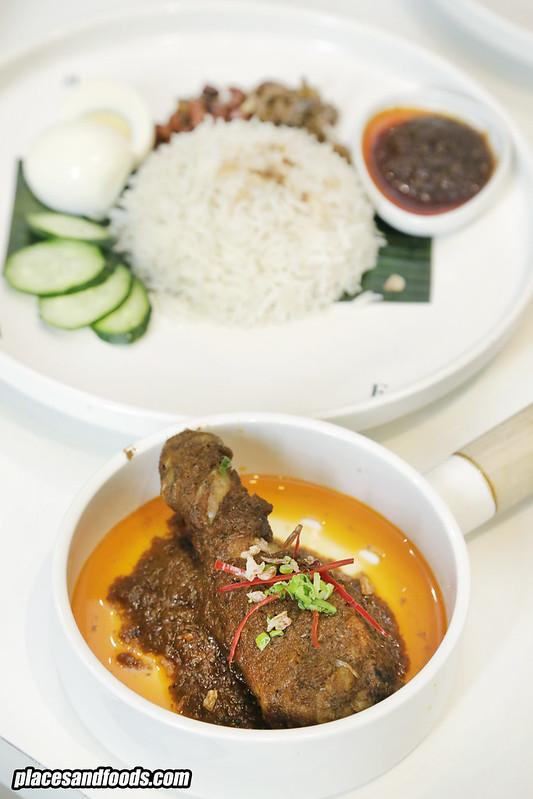 the loaf nasi lemak rendang chicken