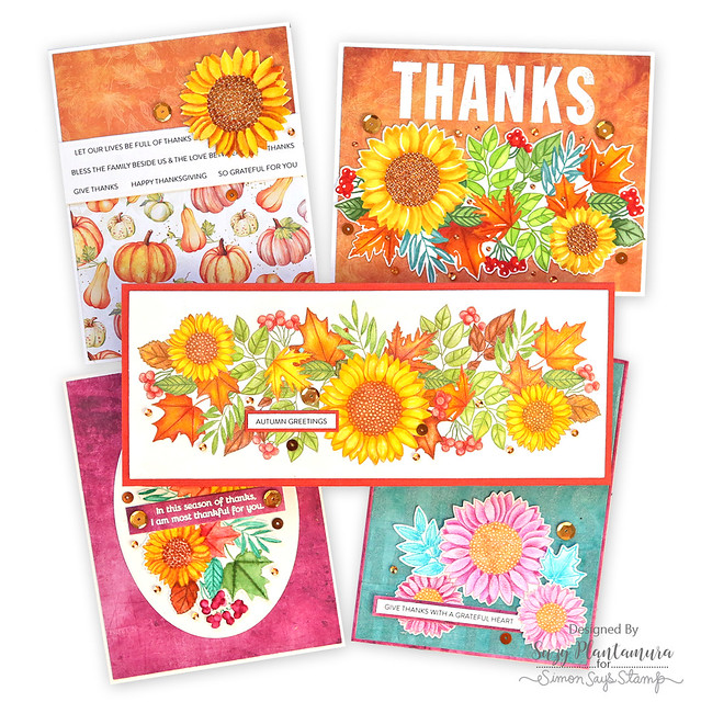Nov card kit cards together