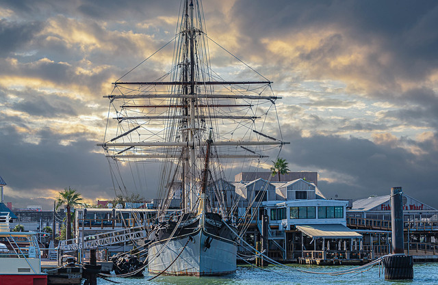Galveston Historic Seaport - Home of the 1877 Tall Ship ELISSA