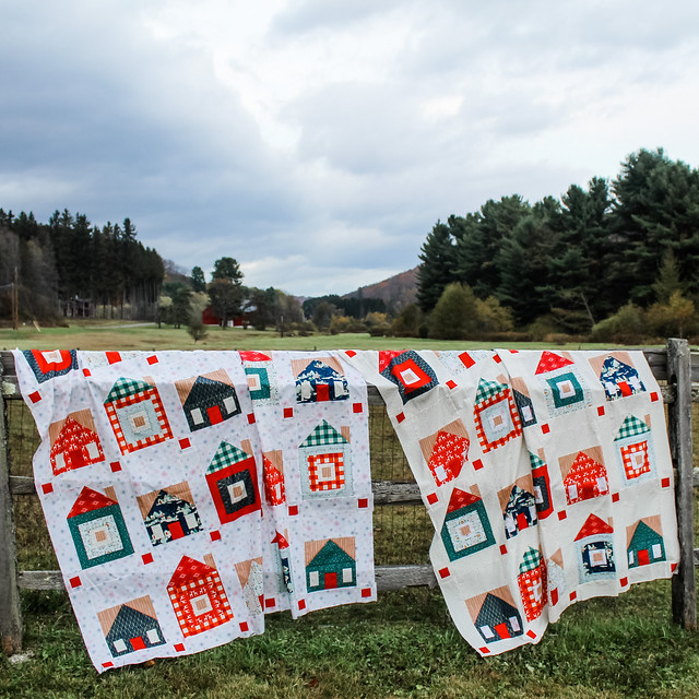 Sweet Home Quilt Tops