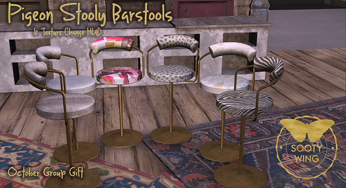 SW Pigeon Stooly Barstools Ad