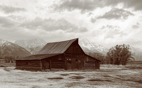 Historic Homestead in Jackson WY | by eliot photos