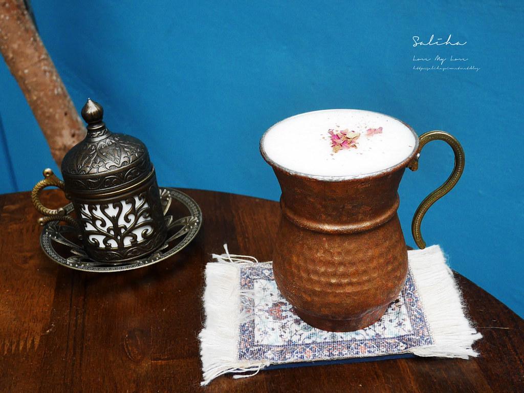 台北大安區Saturn Landing Turkish Coffee登陸土星土耳其咖啡永康街東門站餐廳不限時下午茶 (2)