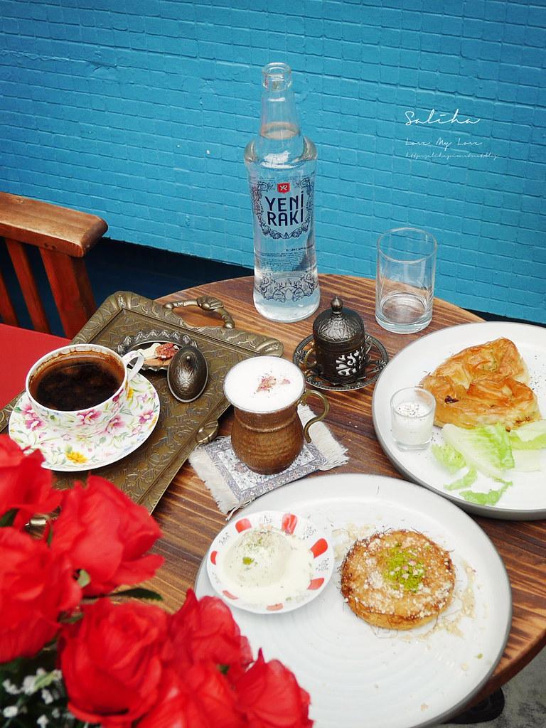 Saturn Landing Turkish Coffee登陸土星土耳其咖啡永康店台北大安區咖啡廳下午茶不限時間可久坐看書 (4)