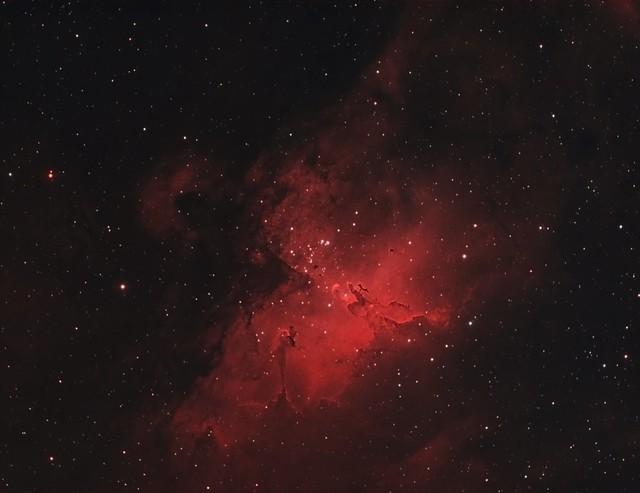 M16-Eagle Nebula - HOO  - Explored October 14, 2020
