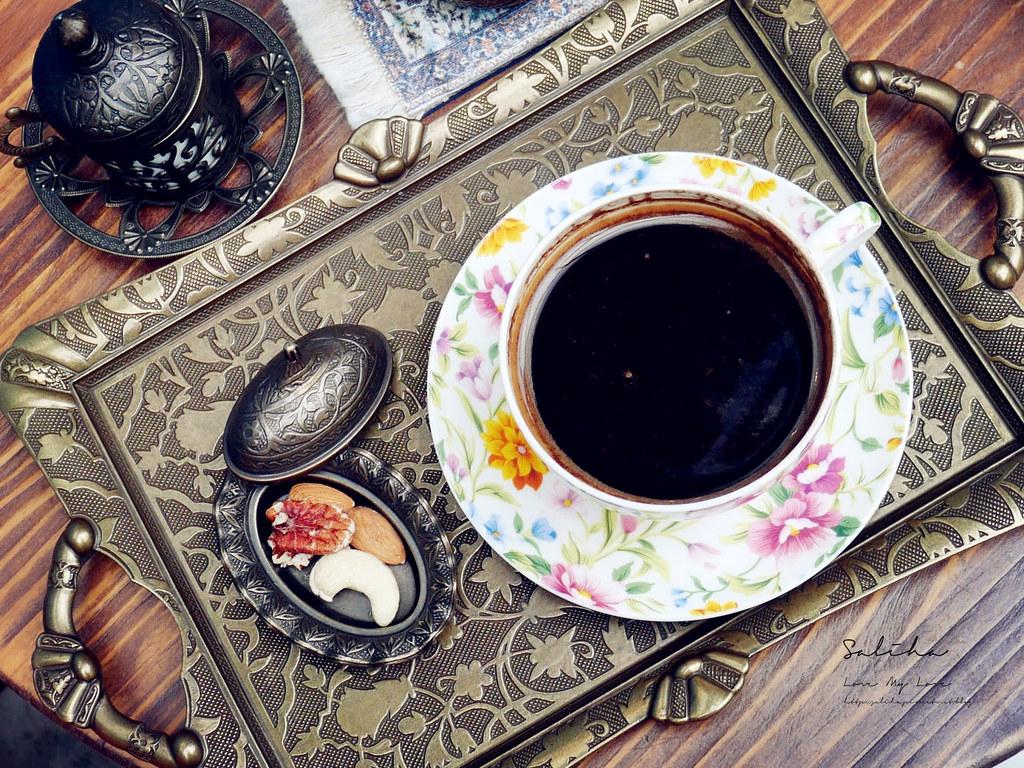 台北特色咖啡廳推薦Saturn Landing Turkish Coffee登陸土星土耳其咖啡永康街下午茶 (2)