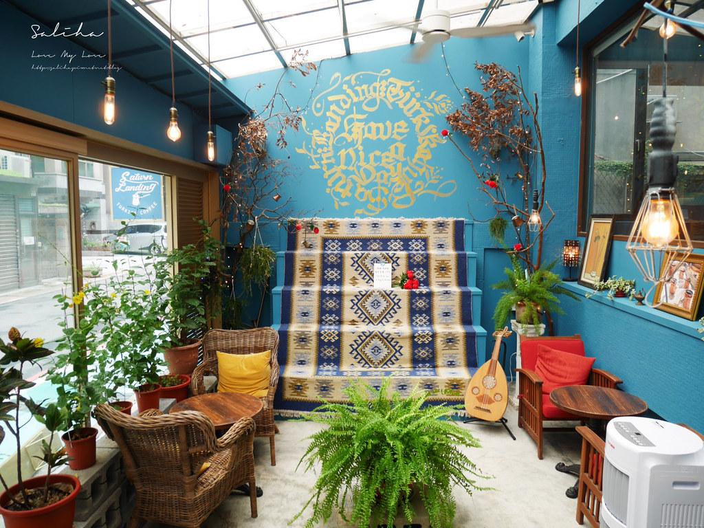 台北永康街不限時咖啡廳推薦下午茶登陸土星土耳其咖啡異國風ig打卡必拍飲料餐廳美食 (4)
