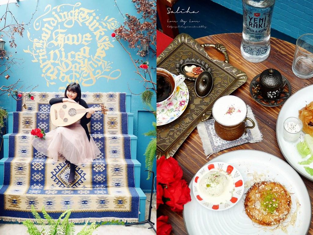 台北永康街不限時咖啡廳推薦下午茶登陸土星土耳其咖啡異國風ig打卡必拍飲料餐廳美食 (2)