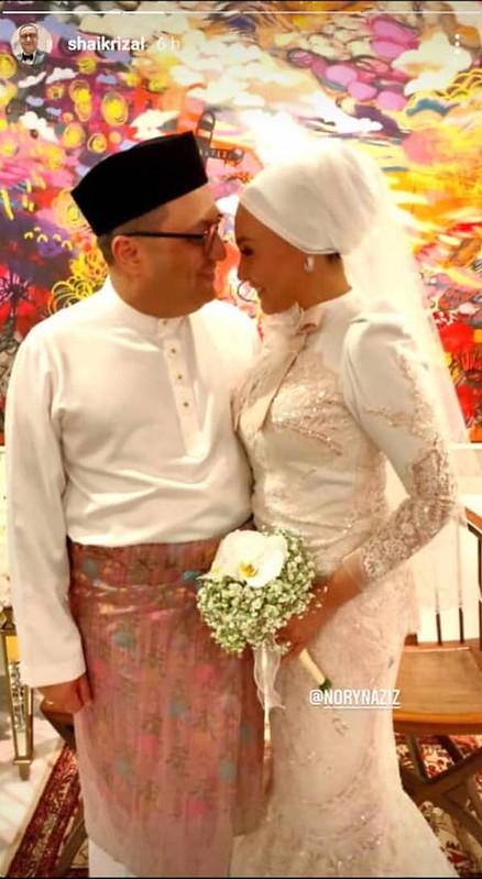 Noryn Aziz Nikah Dengan Usahawan Beberapa Jam Sebelum PKPB Dilaksanakan