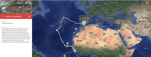 Elcano: Viaje a la historia (Salida)