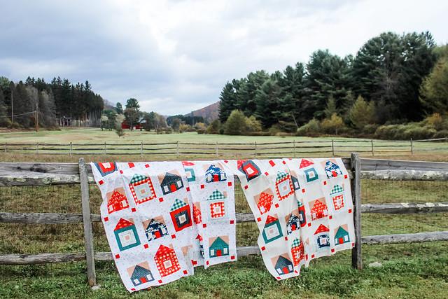 Sweet Home Quilt Tops -- Cozy & Joyful