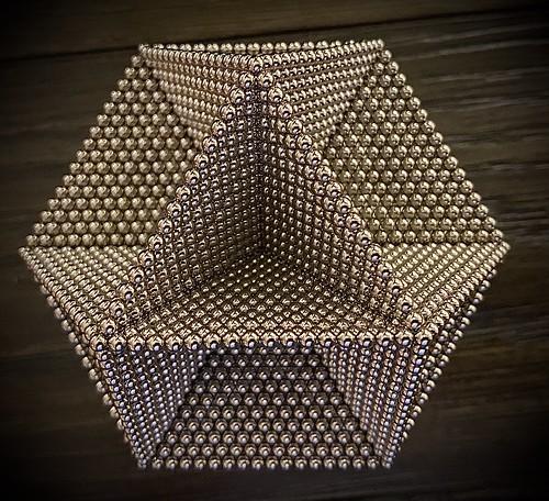 Layered Cuboctahedron Frame - Angle 2