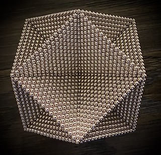Layered Cuboctahedron Frame - Angle 1