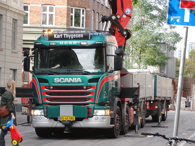 Scania G490 BS43581 at work