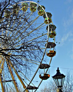Big Wheel ride against blue sky skies | by Tony Worrall