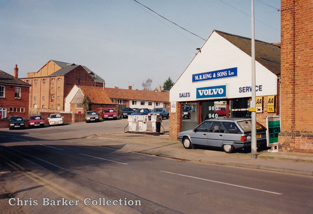 Little David - MR King, 46 Quay Street, Halesworth, Suffolk IP19 8EY 1992