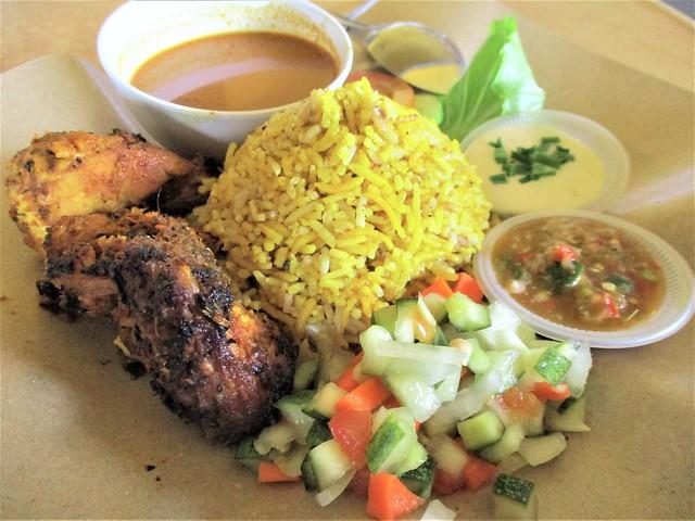 Nasi Arab ayam bakar