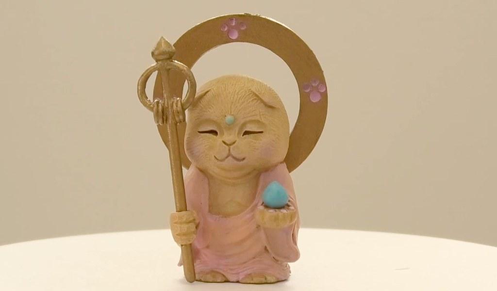 觀世喵喵 喵法慈悲~Qualia 佛系貓咪轉蛋 第二彈「貓菩薩」來啦!
