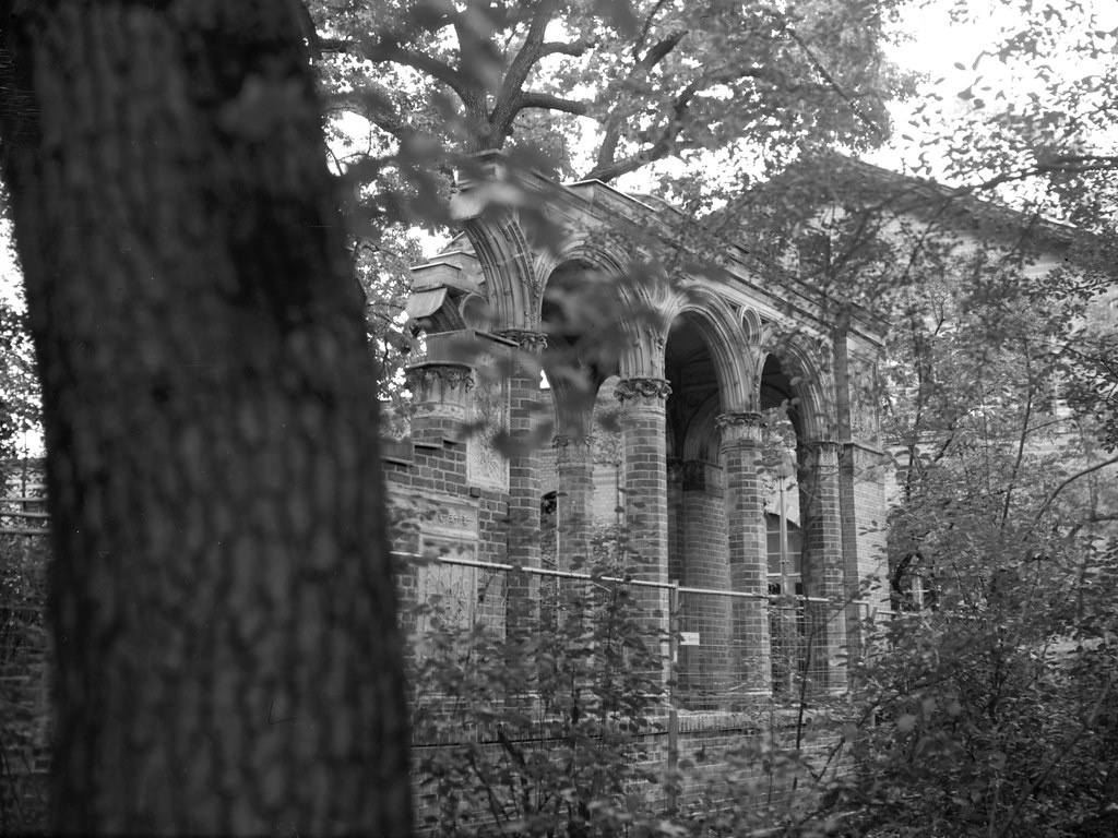 Some decorative ruins