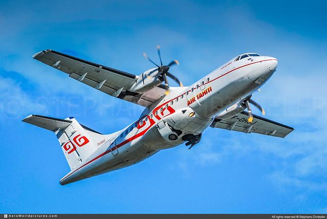 PPT.2008 | #AirTahiti #VT #ATR #ATR-42 #F-OHJJ #PUARAI | #AWP-CHR