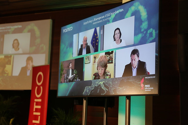 """2020-10-13 POLITICO's event """"Applying a European CO2 border tax: from words to action"""""""