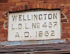 Former Duke of Wellington Loyal Orange Lodge No. 457, built 1852