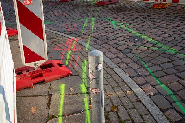Grundkurs Straßenmarkierung