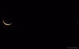 288 /366 The Moon and Venus before sunrise