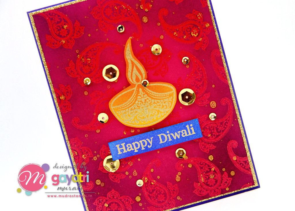 Happy Diwali card closeup2