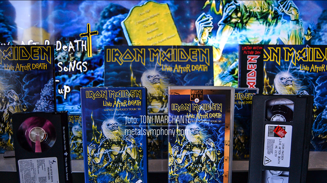 "Iron Maiden: 35 años de ""Live After Death"""