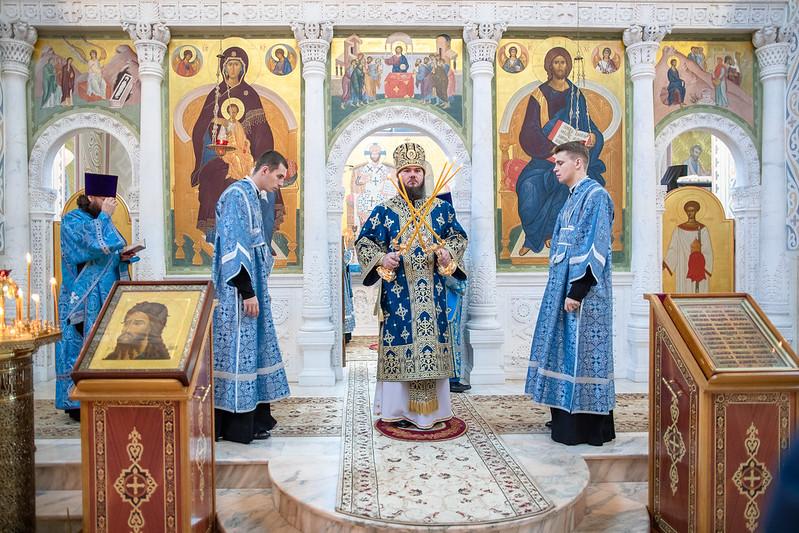 14 октября 2020, Престольный праздник в Покровском Хотьковском женском монастыре / 14 October 2020, Patronal feast day at the Pokrovsky Khotkovsky convent