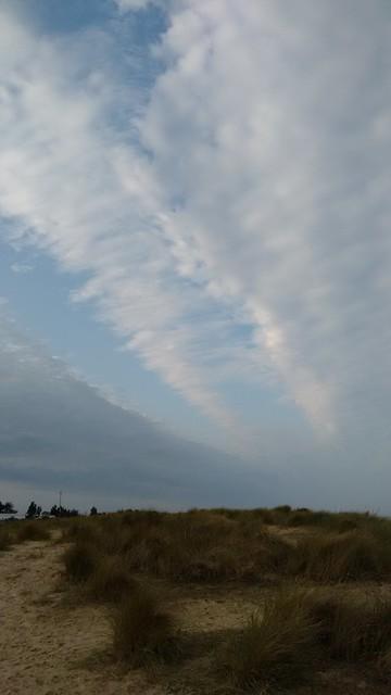 The sky unzipped