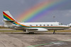 rainbow Lockeed L-1329 JetStar - VP-CSM