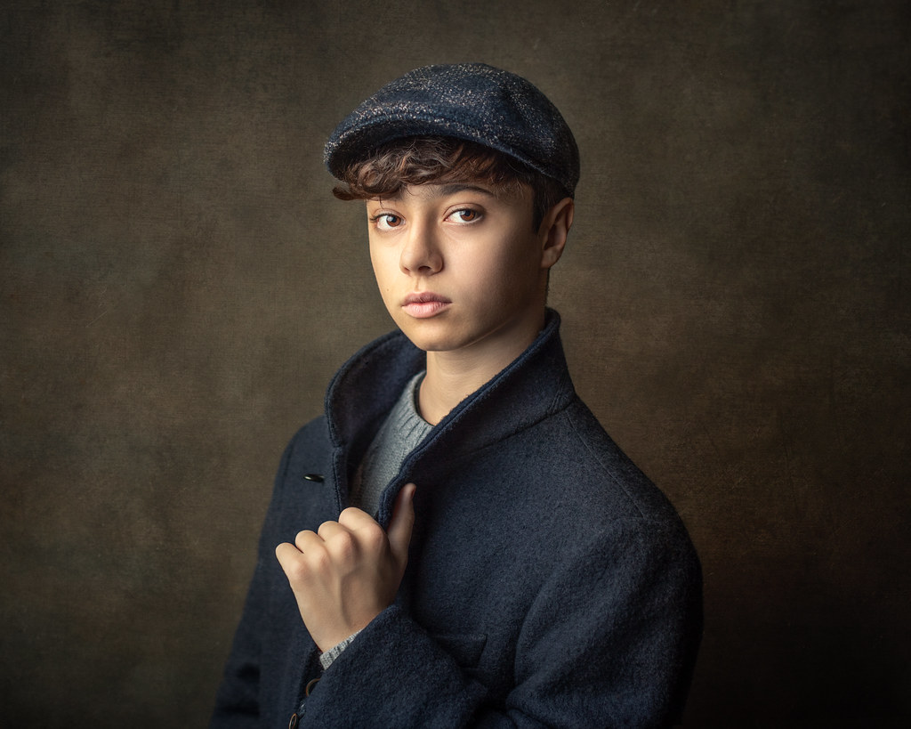 Boy with Blue Coat