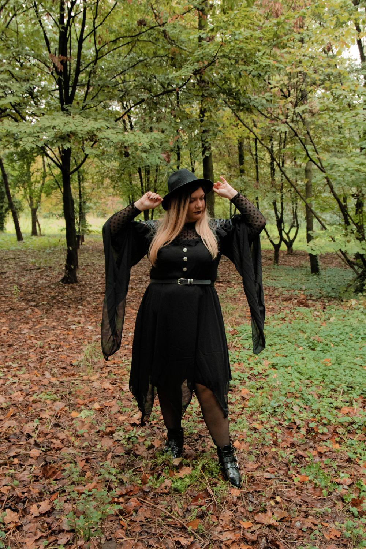 outfit curvy plus size halloween carnevale strega (10)