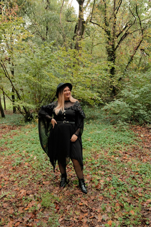 outfit curvy plus size halloween carnevale strega (2)