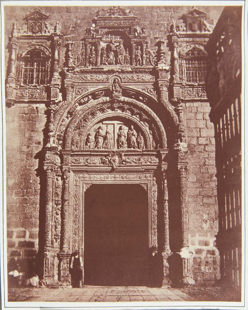 Hospital de Santa Cruz en 1852 por Charles Clifford. Royal Collection Trust.