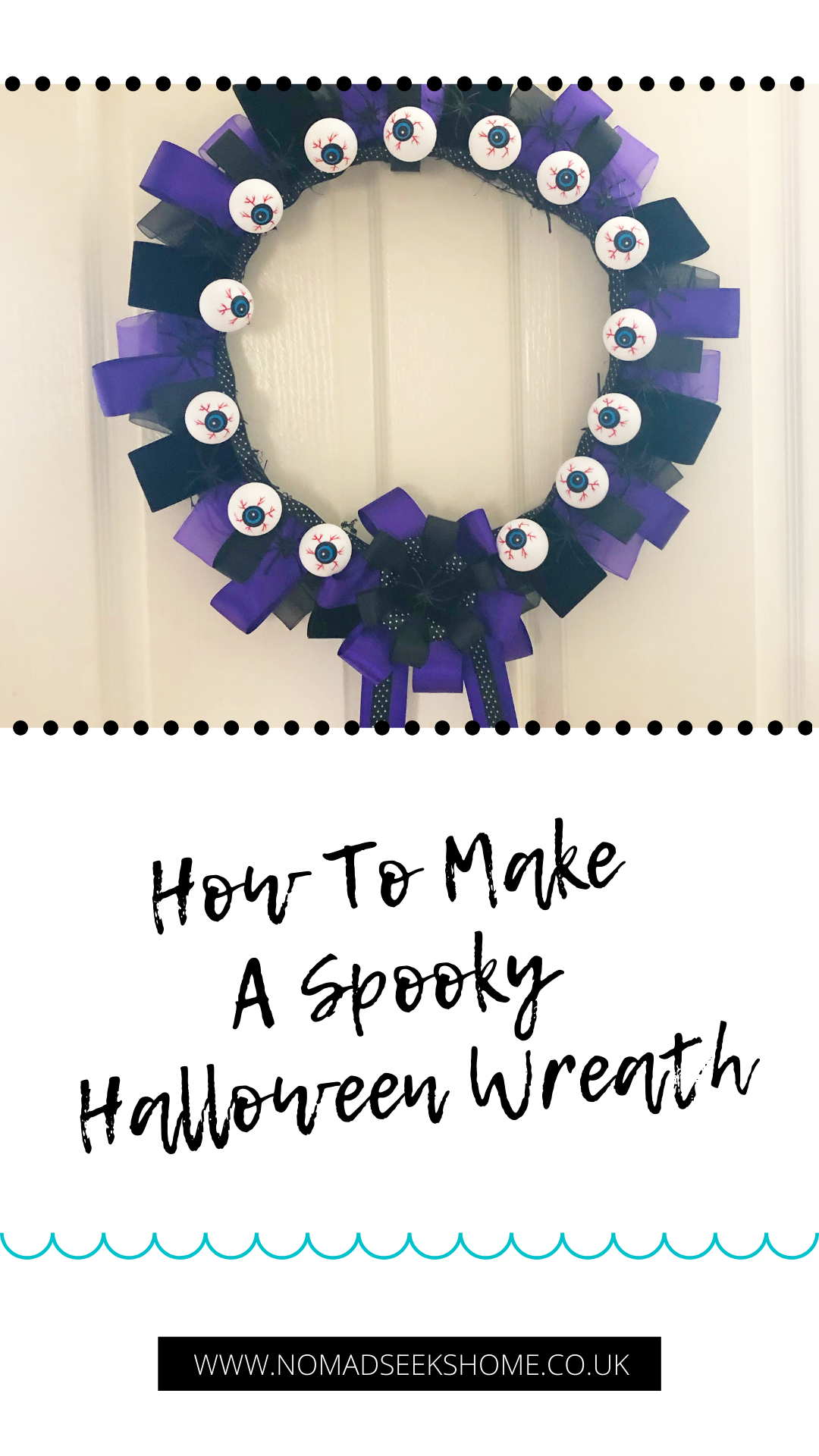 How To Make A Spooky Halloween Wreath