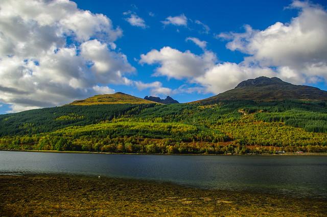 Overlooking Loch Long