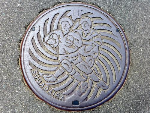 Sugadaira Ueda Nagano, manhole cover (長野県上田市菅平のマンホール)