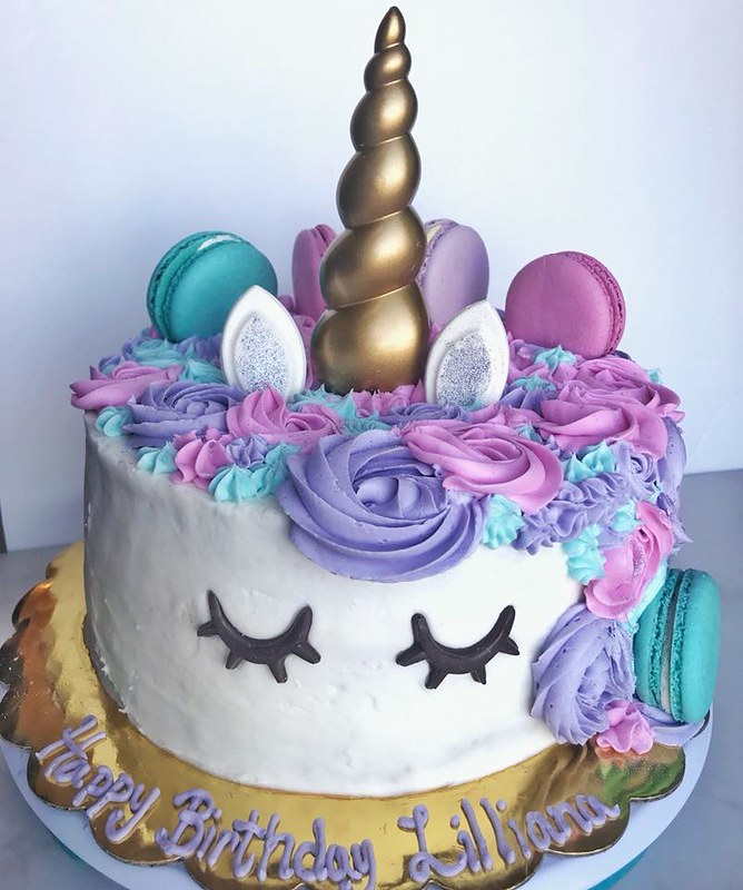 Unicorn Cake by Traveling Sweet Tables