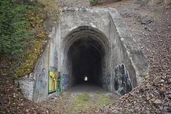Beavertail Tunnel (Milwaukee Road Tunnel 16) Near Bonita, Montana