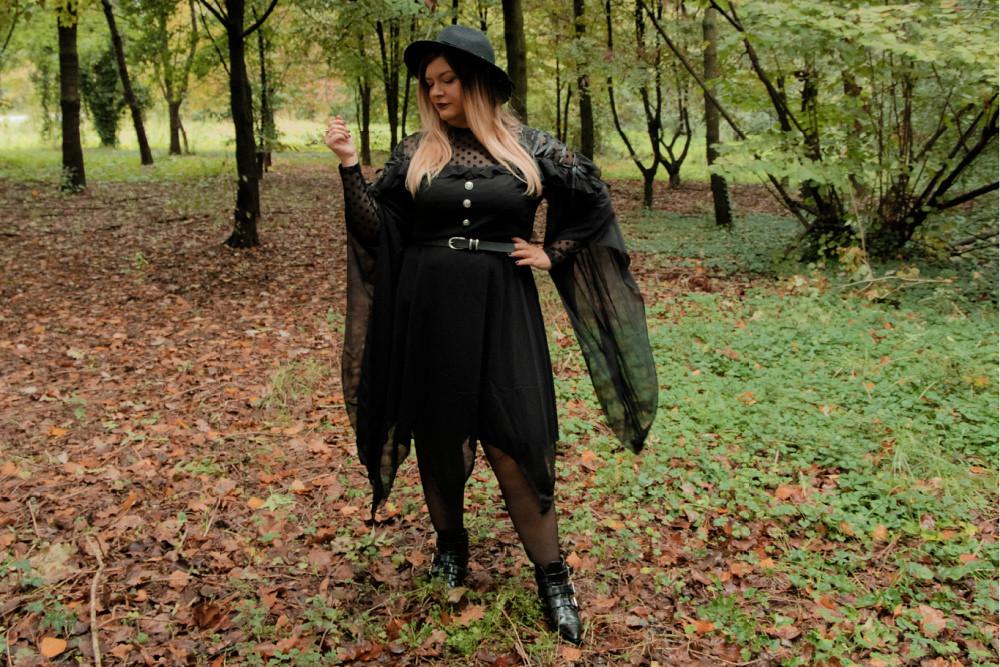 outfit curvy plus size halloween carnevale strega (9)