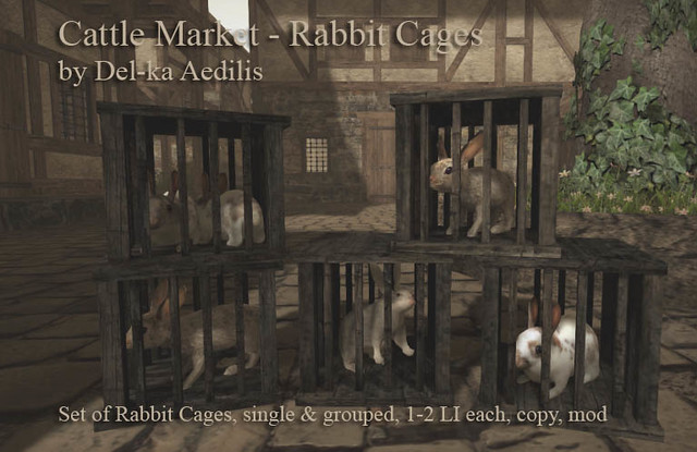 Cattle Market: Rabbit Cages