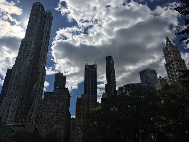 Lower Manhattan Eclipse