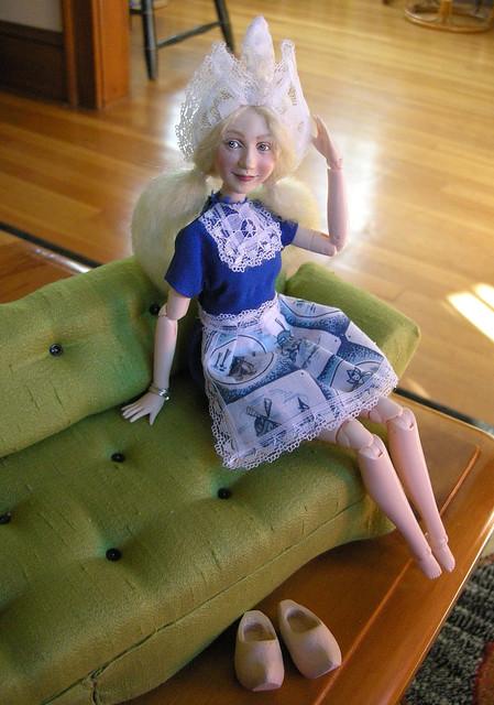 Jane as a Little Dutch Girl