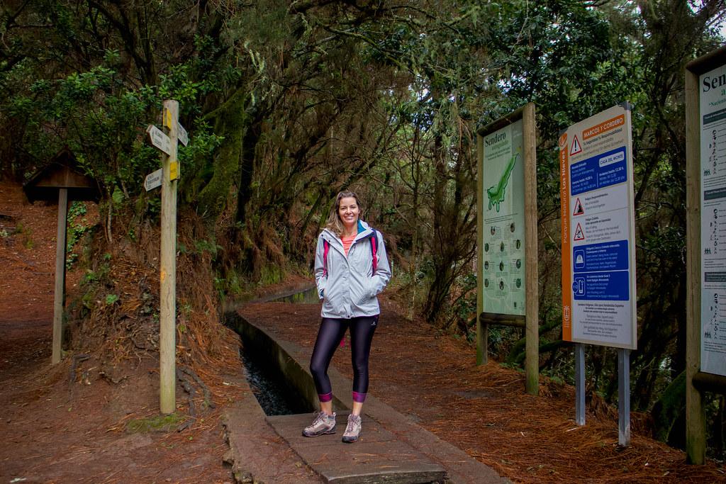 Inicio del sendero de Marcos y Cordero desde la Casa del Monte
